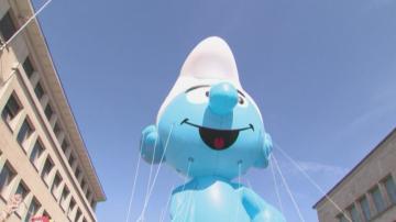 Парадът на балоните в Брюксел се проведе за 17-та поредна година