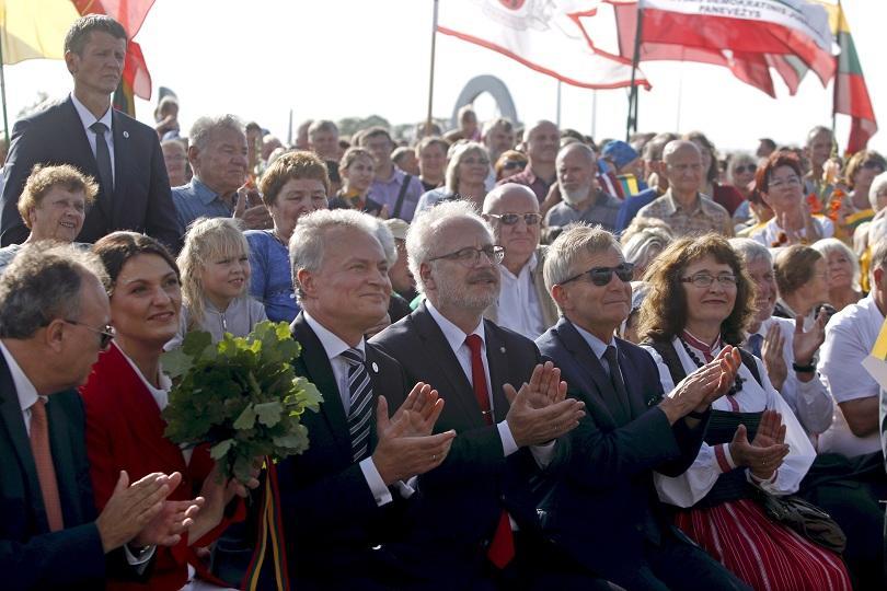 Естония, Латвия и Литва отбелязват 30 години от провеждането на