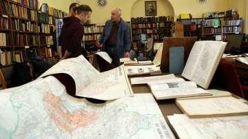Библиотеката на БАН чества 150-годишнина с картографска изложба
