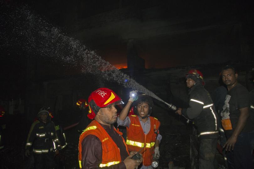 Най-малко 69 души са загинали при пожар в столицата на