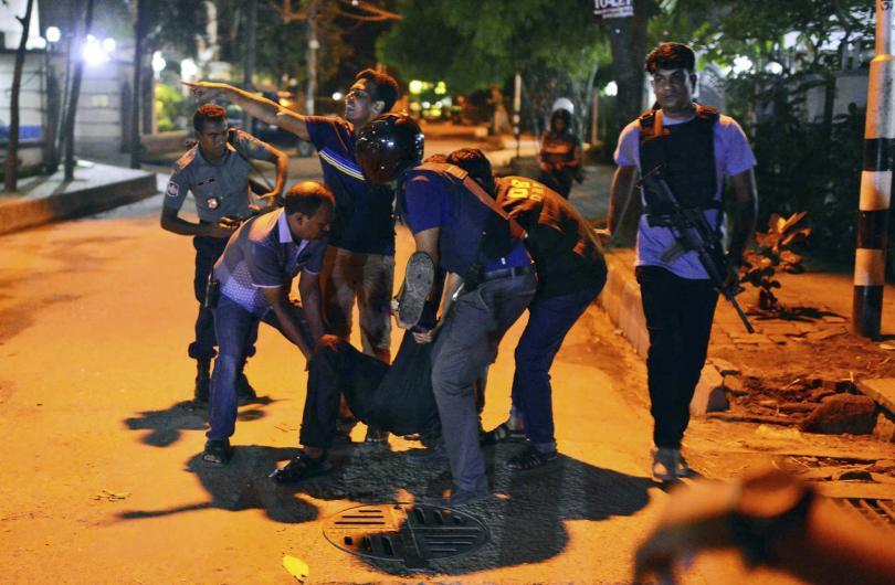 снимка 4 Ислямска държава пое отговорността за нападението в Дака