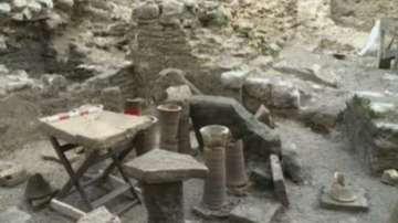 Откриха късноантична баня в центъра на Варна