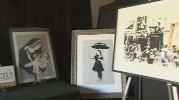 Рисунки на Банкси на търг, очаква се творбите да съберат 500 000 долара