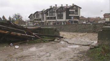 Бедственото положение в Банско остава