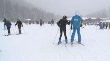 Ден на снега в Банско