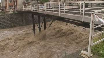 Бедствено положение в Банско заради проливните дъждове