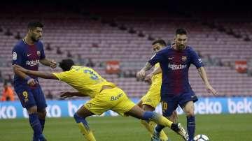 Референдумът в Каталуния намери отражение и във футбола