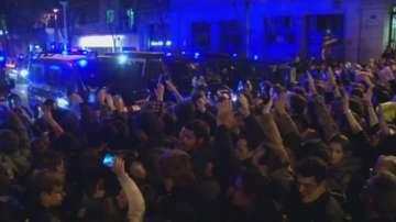 Протести в Барселона срещу ареста на Карлес Пучдемон в Германия