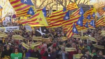 Демонстрации за независимост на Каталуния
