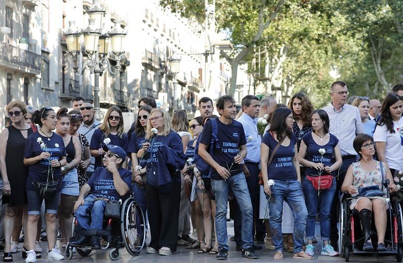 В Испания днес отбелязаха втората годишнина от атентата в Барселона,