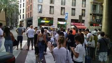 Барселона след атентата - снимки на наши сънародници