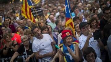 Една година от масовите демонстрации за независимост на Каталуния