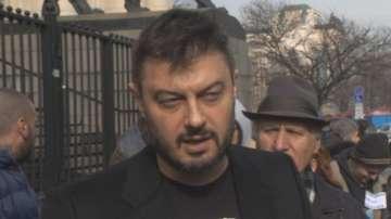 Евродепутатът Николай Бареков организира протест пред Софийския градски съд