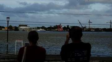 Луизиана в очакване на урагана Бари