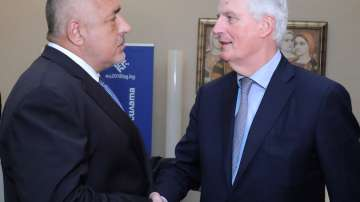 Визита на преговарящия на ЕС за Брекзит Мишел Барние в София