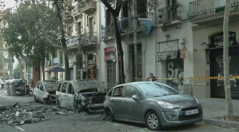 Пореден ден на протести в Барселона, заради присъдите на деветимата