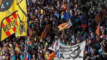 Нова демонстрация в Барселона срещу затвора за 9 сепаратисти