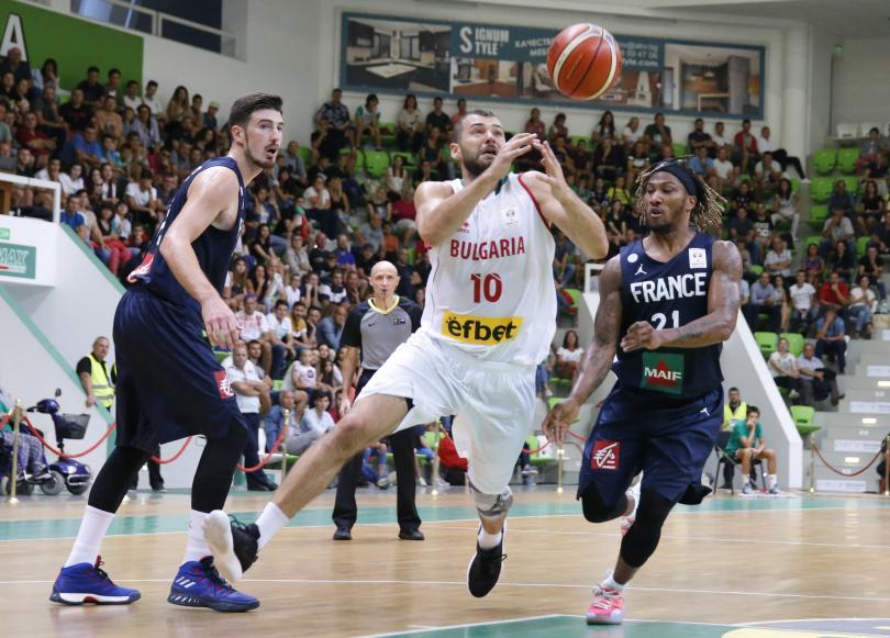 българия победи франция световната квалификация баскетбол