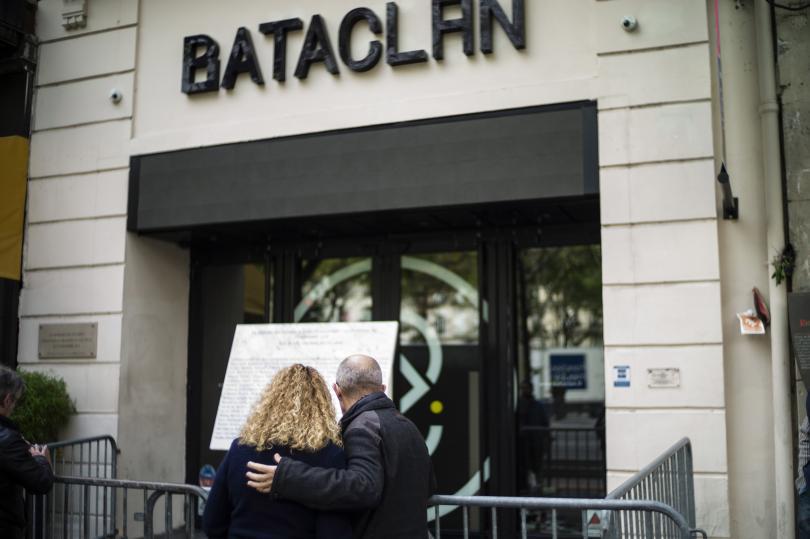 снимка 1 В Париж почетоха паметта на жертвите на атентатите от 2015 г.