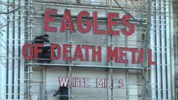 Групата Eagles of Death Metal от зала Батаклан с концерт в Париж
