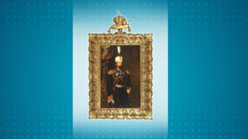 Показват портрета на княз Александър Батенберг