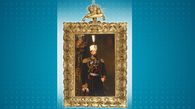 снимка 1 Показват портрета на княз Александър Батенберг