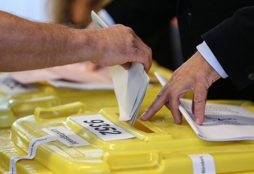 На изборите в южната германска провинция Бавария управляващият консервативен Християнсоциален
