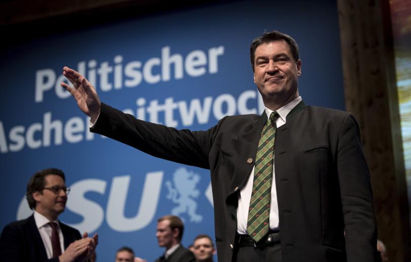 Маркус Зьодер - мъжът, който се очаква да стане премиер