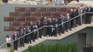Посланици от над 20 държави на откриването на Епископската базилика в Пловдив