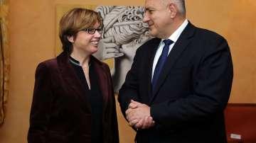 Премиерът Борисов проведе среща с  изпълнителния директор на Европол