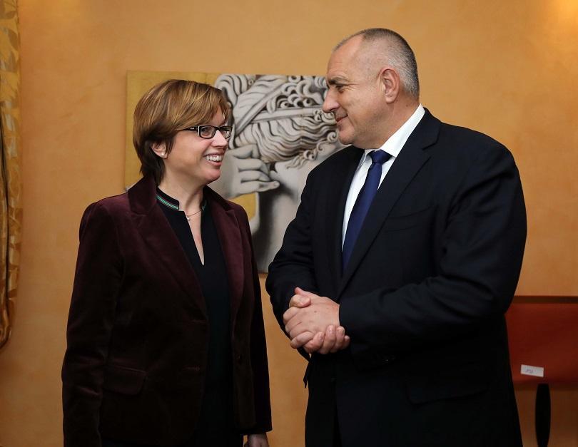 Снимка: Премиерът Борисов проведе среща с изпълнителния директор на Европол