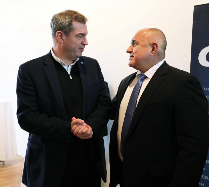 снимка 1 Премиерът на Бавария: Единственият, който винаги остава на своя пост, е Борисов