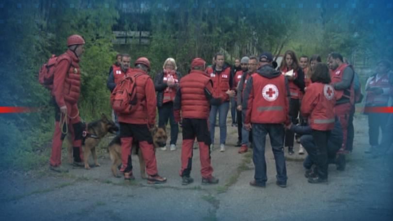 50 души от 5 континента от Червения кръст и Червения