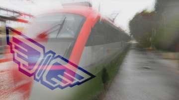 БДЖ: Движението на влаковете е спряно в два участъка заради зимните условия