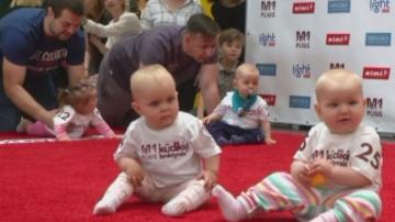 Прохождащи бебета на състезание в Литва