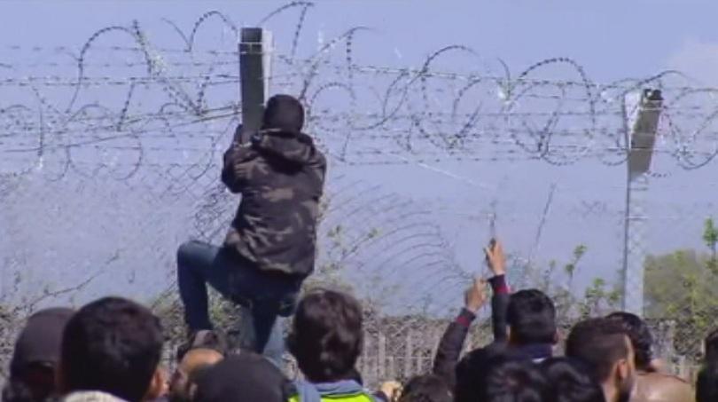 лесово протестираха изграждането бежански центрове
