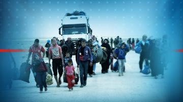 215 бежанци и мигранти са прехвърлени от Лесбос в Атина
