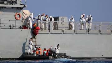 Италия разреши 82 мигранти да слязат на остров Лампедуза