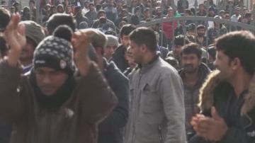 Сблъсъци в бежански лагер в Босна до Хърватия