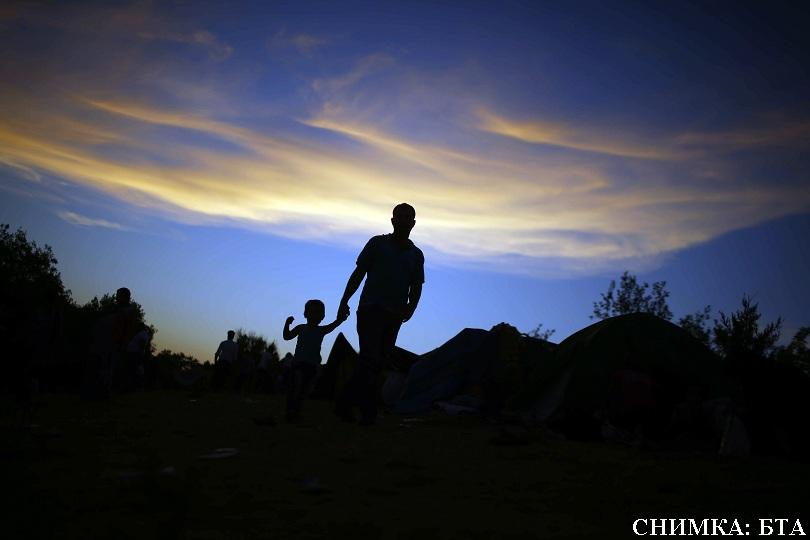 миграционният поток отслабва април