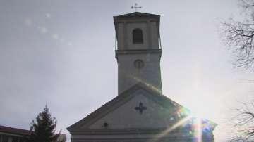 Пожар горя в католическата църква в Белене