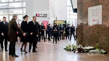"На летище ""Завентем"" откриха паметник на загиналите в атентата преди година"