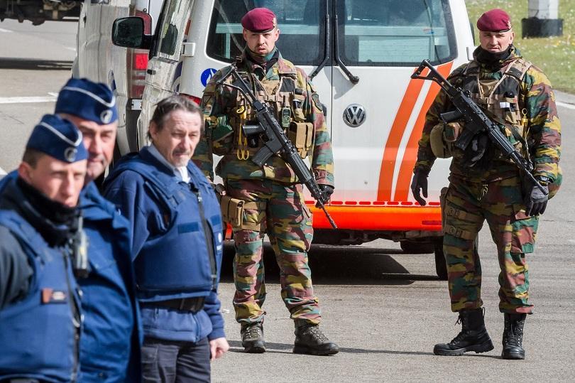 Белгия предприема мерки за защита на военните патрули по улиците