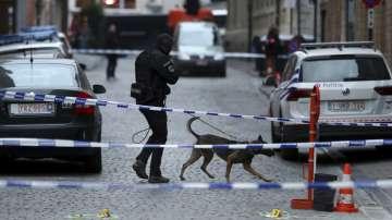 Полицай беше нападнат с нож в центъра на Брюксел