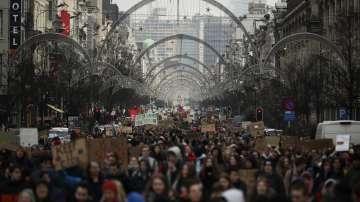 Разрастват се протестите на белгийските ученици в защита на климата