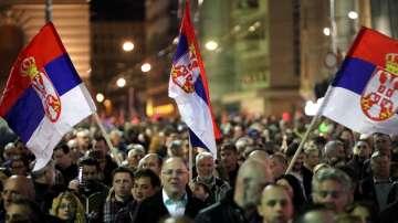 Пореден протест срещу Александър Вучич в Белград