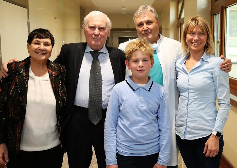 снимка 1 Изписаха пациента с първата белодробна трансплантация в България