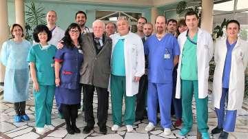 Изписаха пациента с първата белодробна трансплантация в България