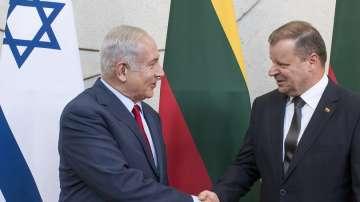 Бенямин Нетаняху стана първият израелски премиер, посетил Литва