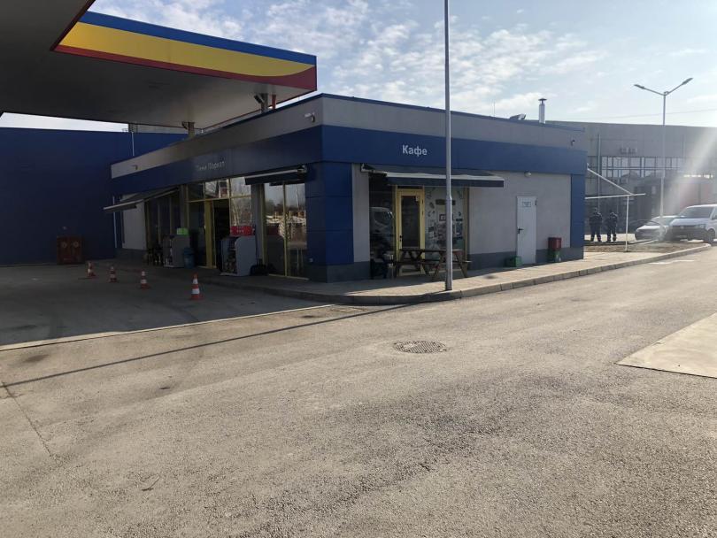 Маскирани са обрали бензиностанция в района на Казичене в София,